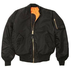 Other - NEW INTERMEDIATE MA-1 BLACK  BOMBER Jacket 02771